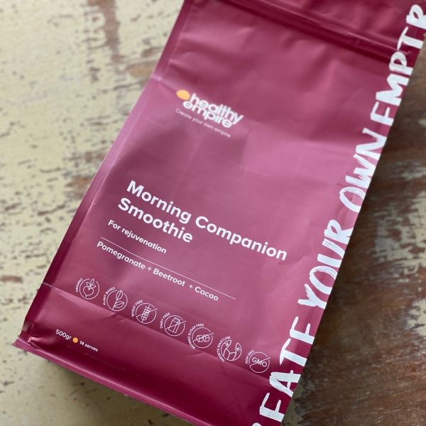 Morning Companion Smothie Packaging
