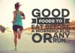 Pre-Run Food