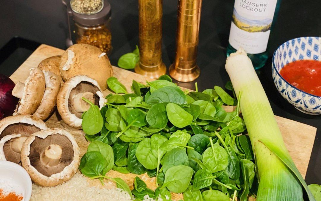 Recipe Spinach Risotto Post