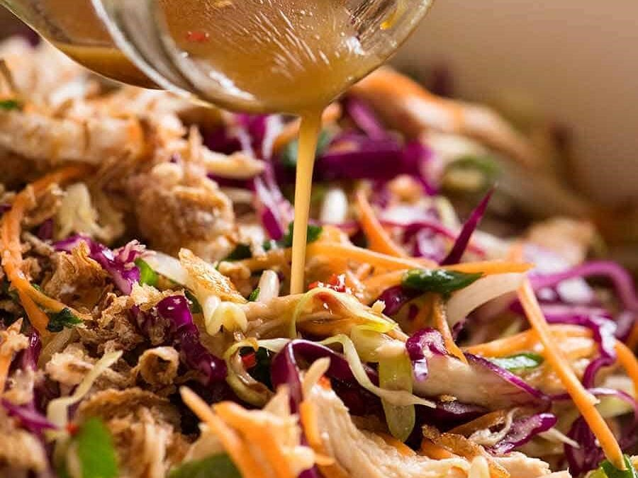 Asian Slaw with Personality