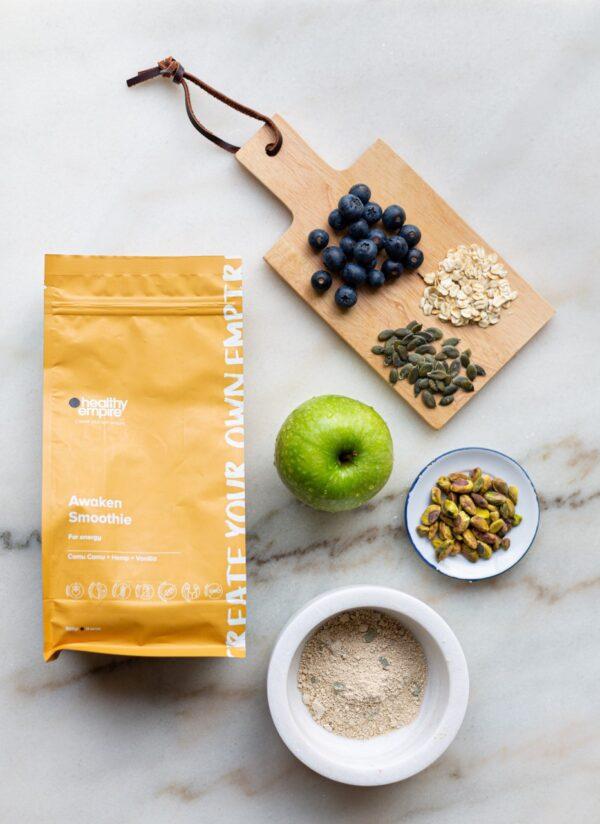 Awaken Smoothie Product Packaging