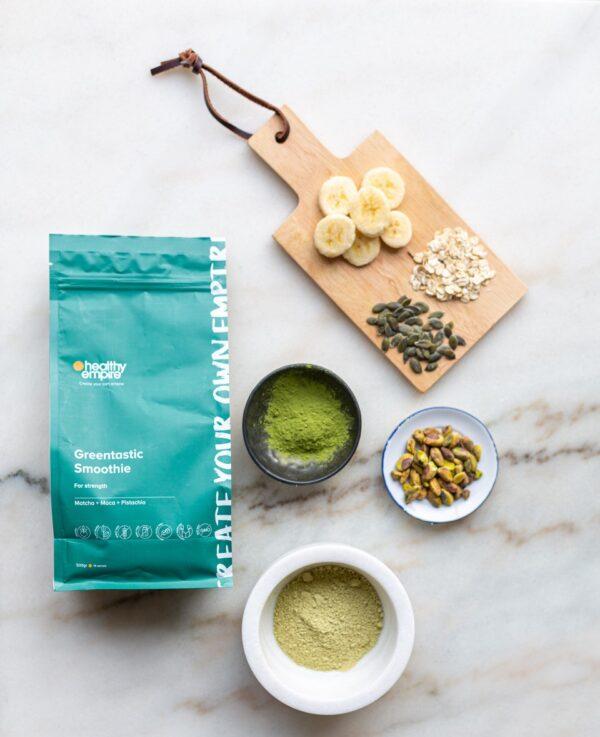 Greentastic Smoothie Packaging